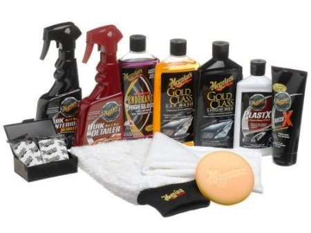 Meguiar's - surface and car care products for professional detailers.
